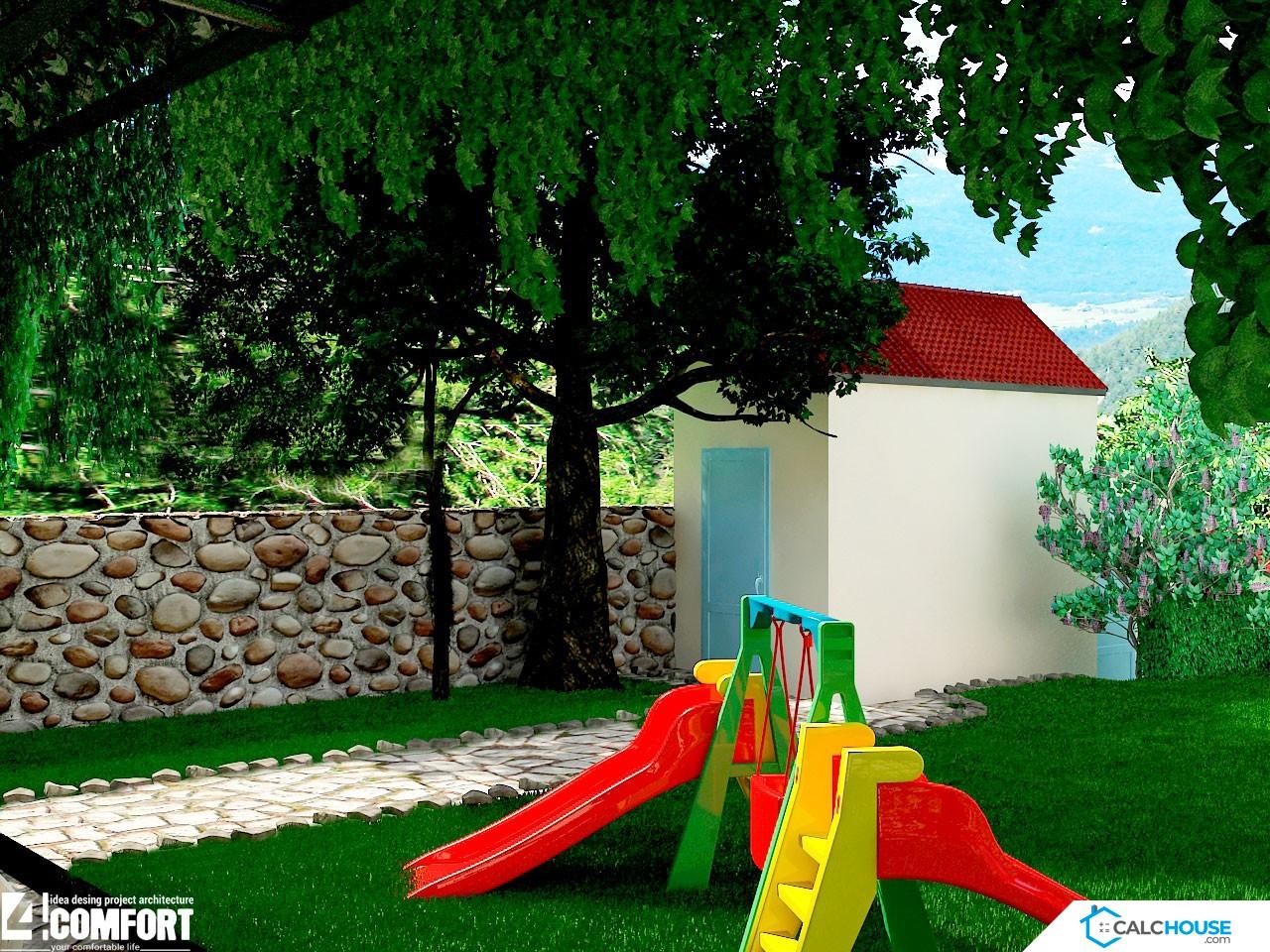 Landşaft dizayn - Oyun yeri