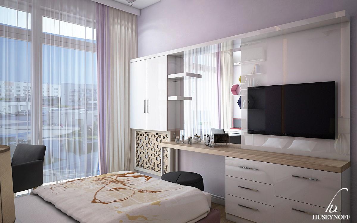 Modern üslubda uşaq yataq otağı - Park Azure